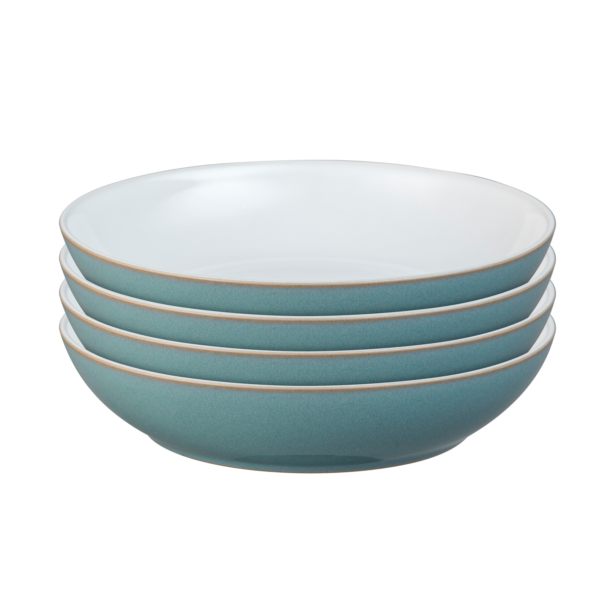 Azure 4 Piece Pasta Bowl Set