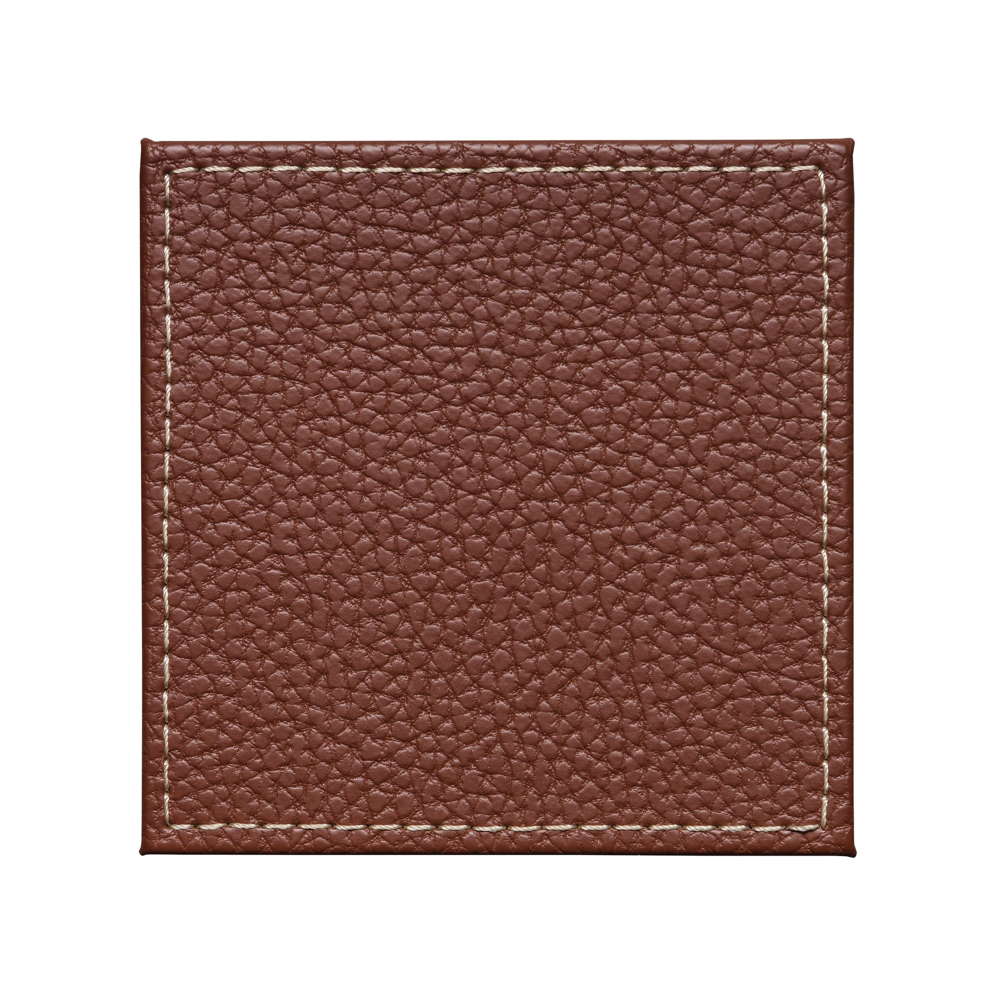 Compare prices for Denby Brown Faux Leather Coasters Set Of 4