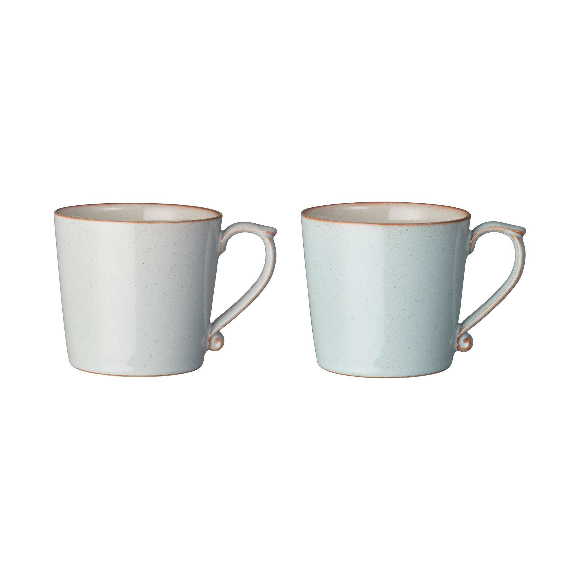 Compare prices for Denby Always Entertaining - The Blue Edit 2 Piece Mug Set Light