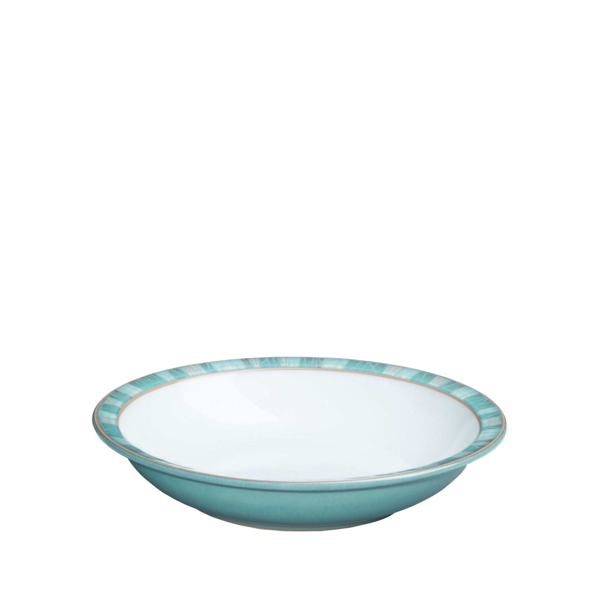 Azure Coast Shallow Rimmed Bowl