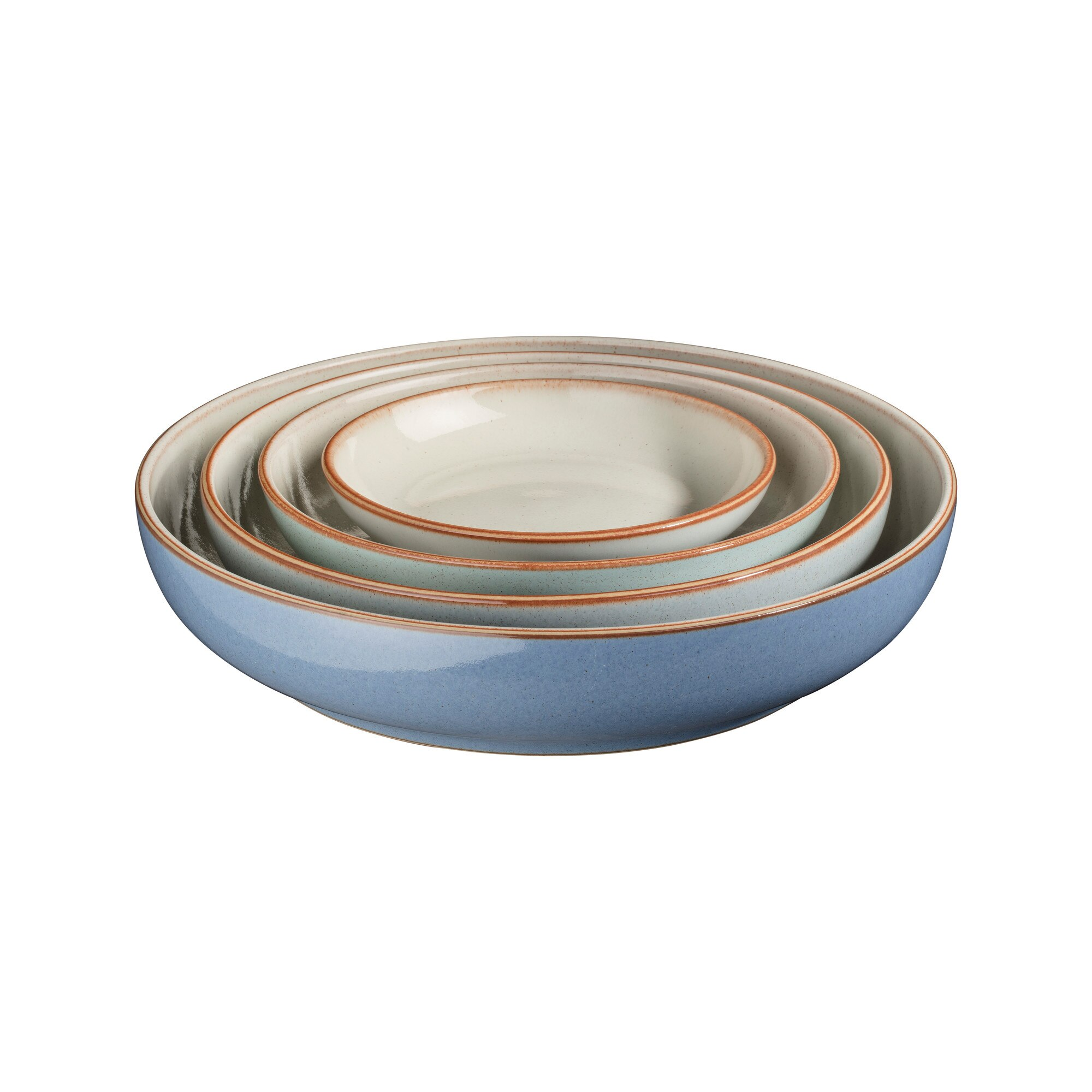 Compare prices for Denby Always Entertaining - The Blue Edit 4 Piece Nesting Bowl Set