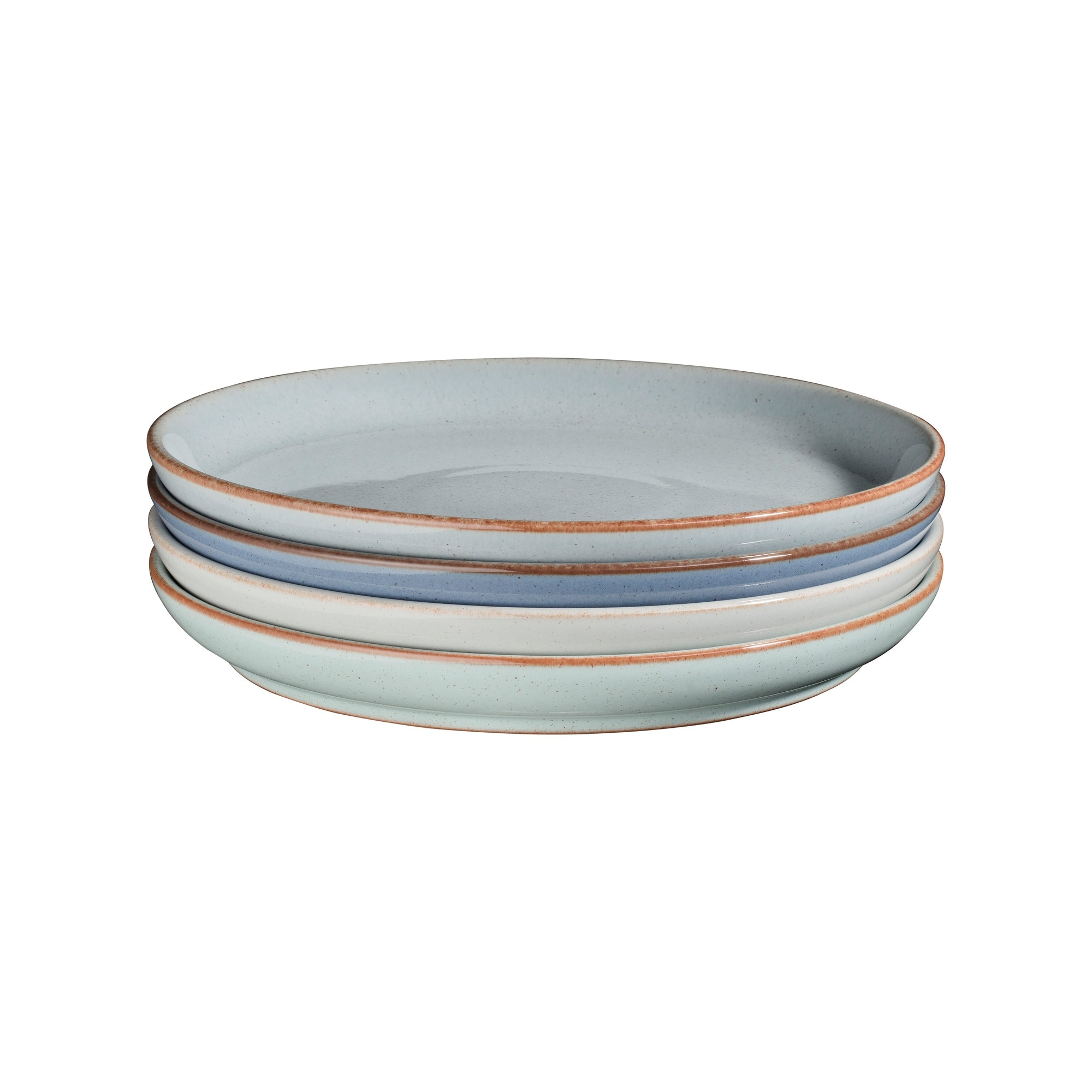 Compare prices for Always Entertaining The Blue Edit 4 Piece Medium Coupe Plate Set