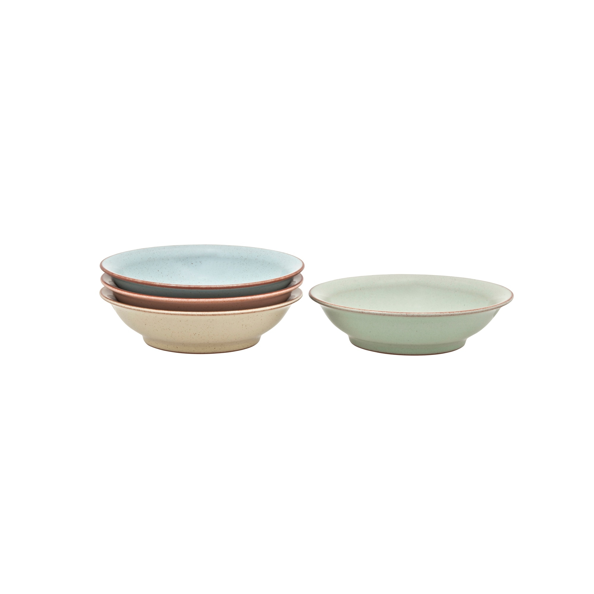 Compare prices for Denby Always Entertaining Deli 4 Piece Medium Shallow Bowl Set