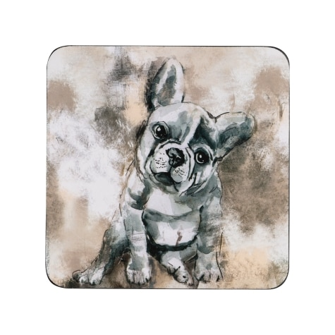 713cac9590cd 50% off Denby French Bull Dog Coasters Pack of 6 ...