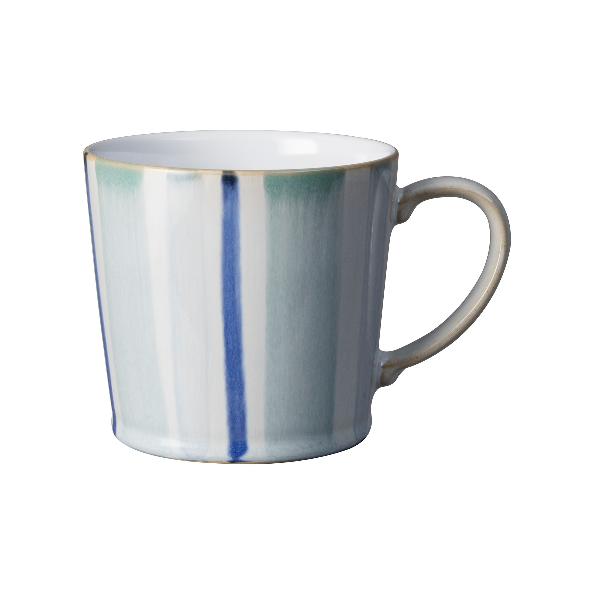 Compare prices for Denby Blue Stripe Painted Large Mug