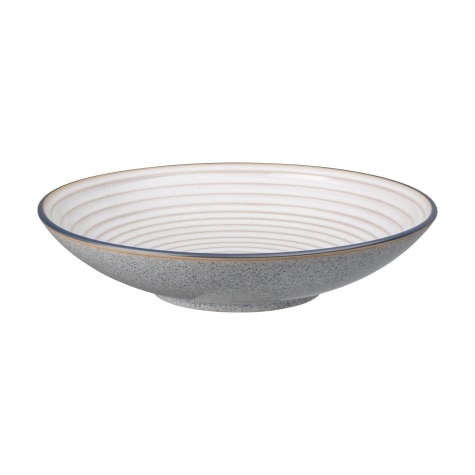 Studio Grey Large Ridged Bowl Denby Pottery