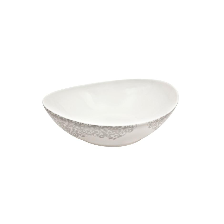 Filigree Silver Large Serving Bowl