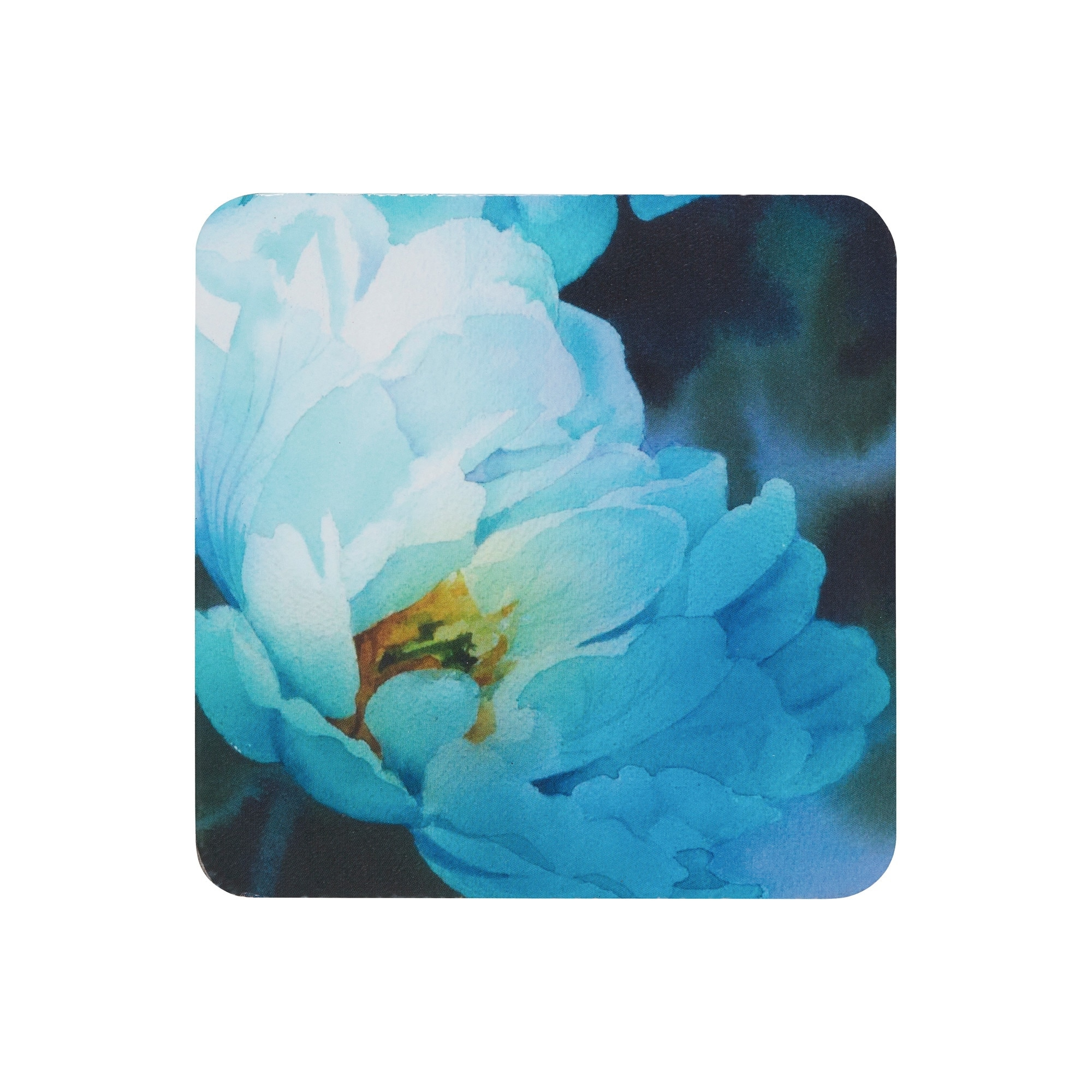 Compare prices for Denby Blue Floral Coasters Set of 6