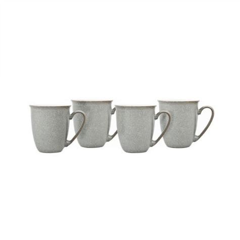 Elements Light Grey 12 Piece Tableware Set