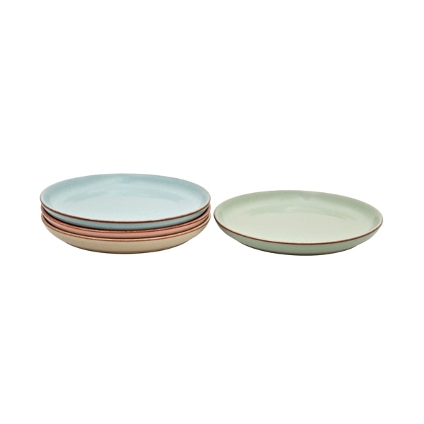Always Entertaining Deli 4 Piece Medium Coupe Plate Set