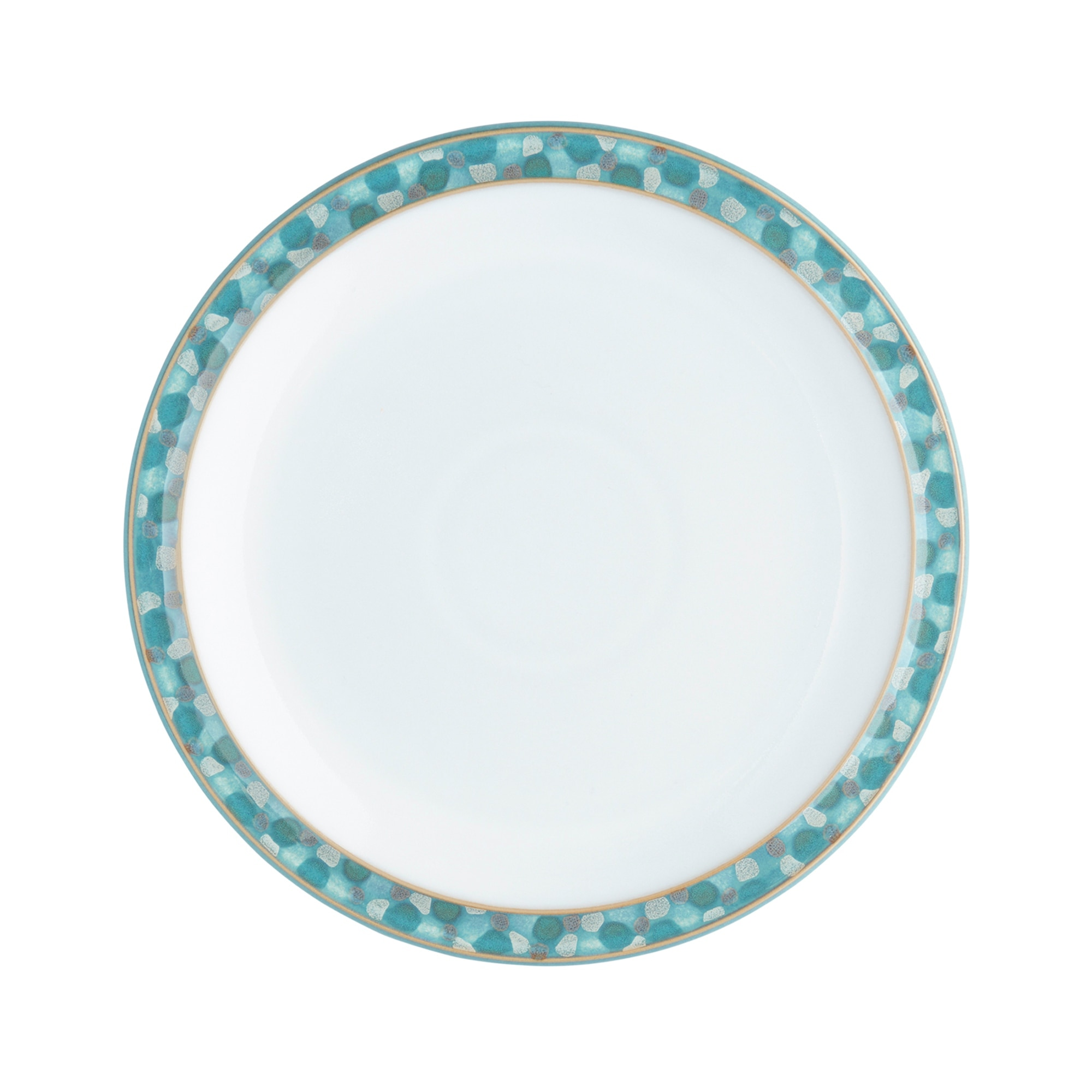Compare prices for Denby Azure Shell Medium Plate