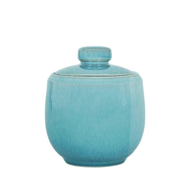 Azure Covered Sugar Bowl