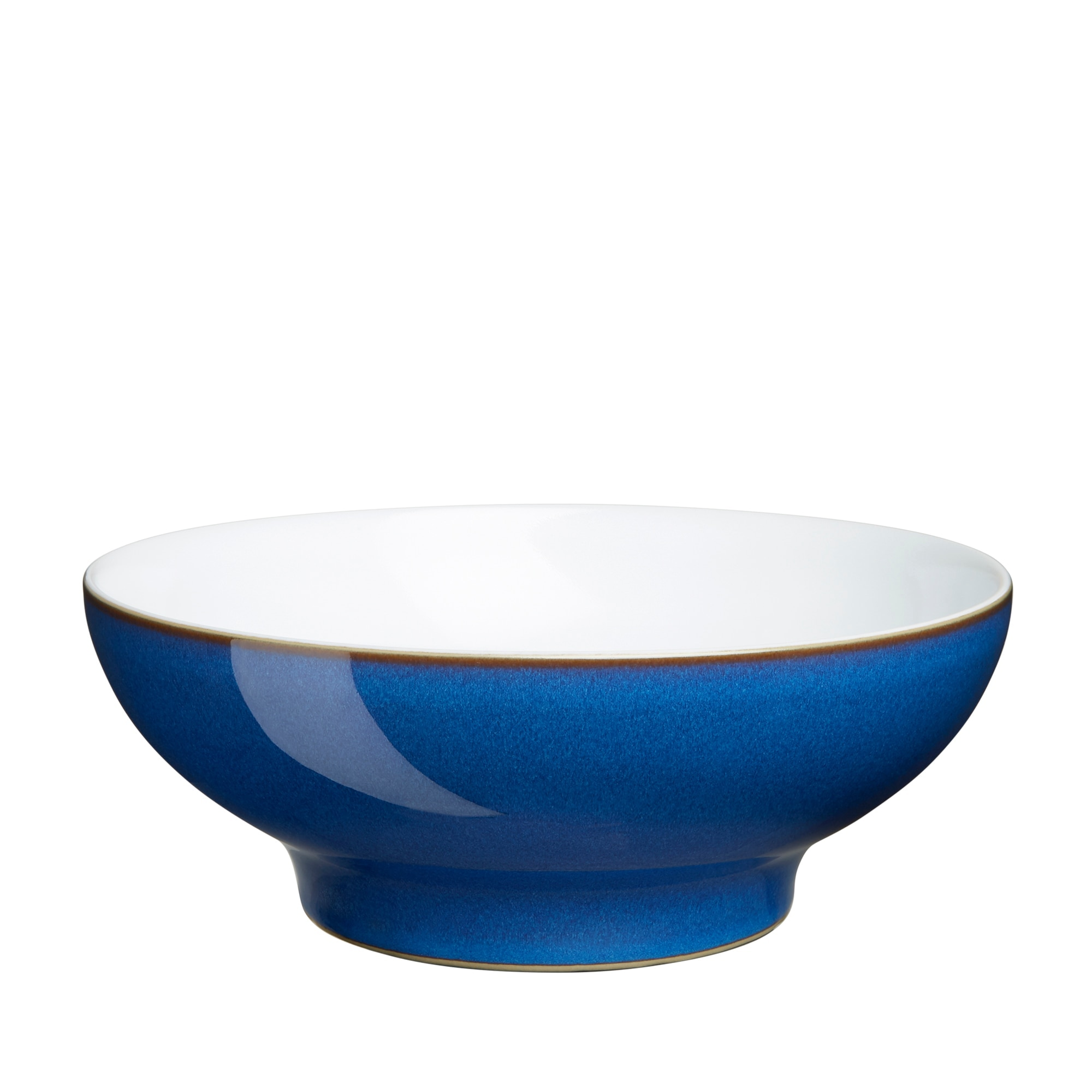 Crockery Imperial Blue Medium Serving Bowl