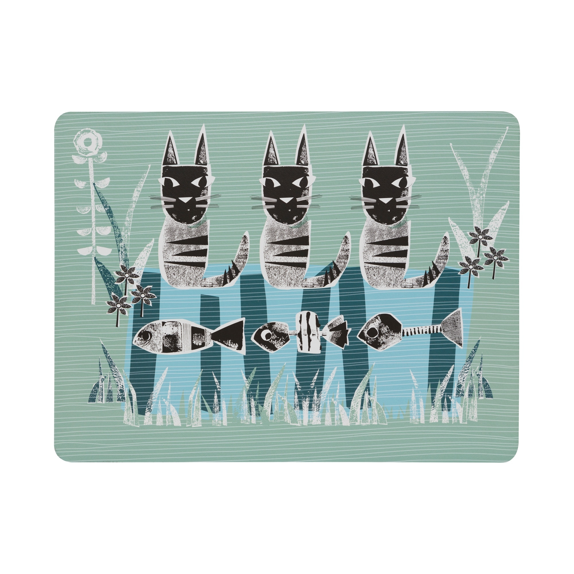 Compare prices for Denby Cat Placemats Set of 6