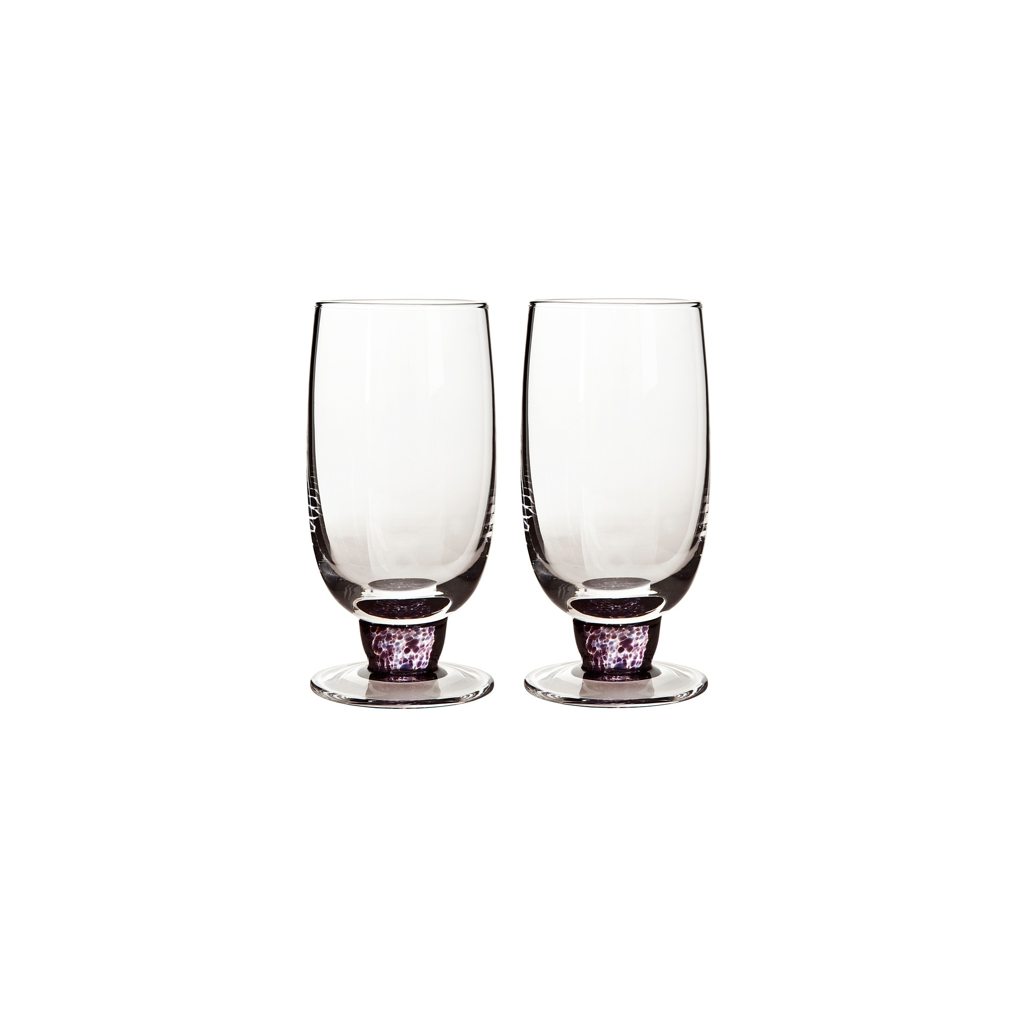Amethyst Large Tumblers (Pack Of 2)