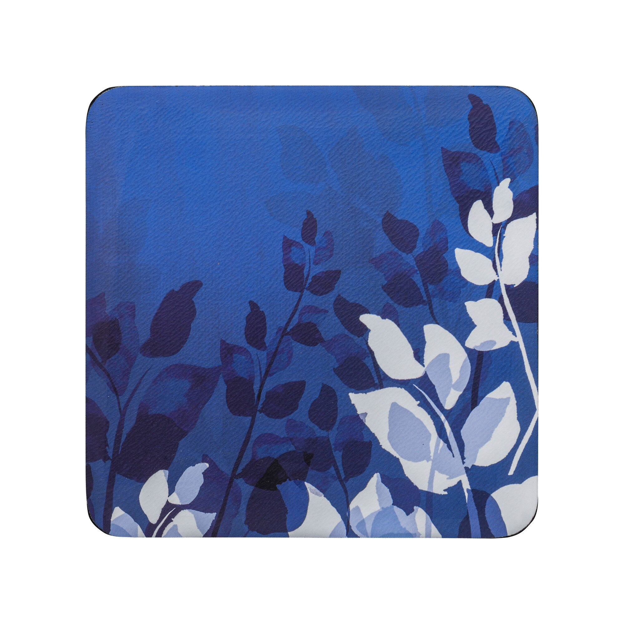 Compare prices for Denby Colours Blue Foliage Coasters Set Of 6