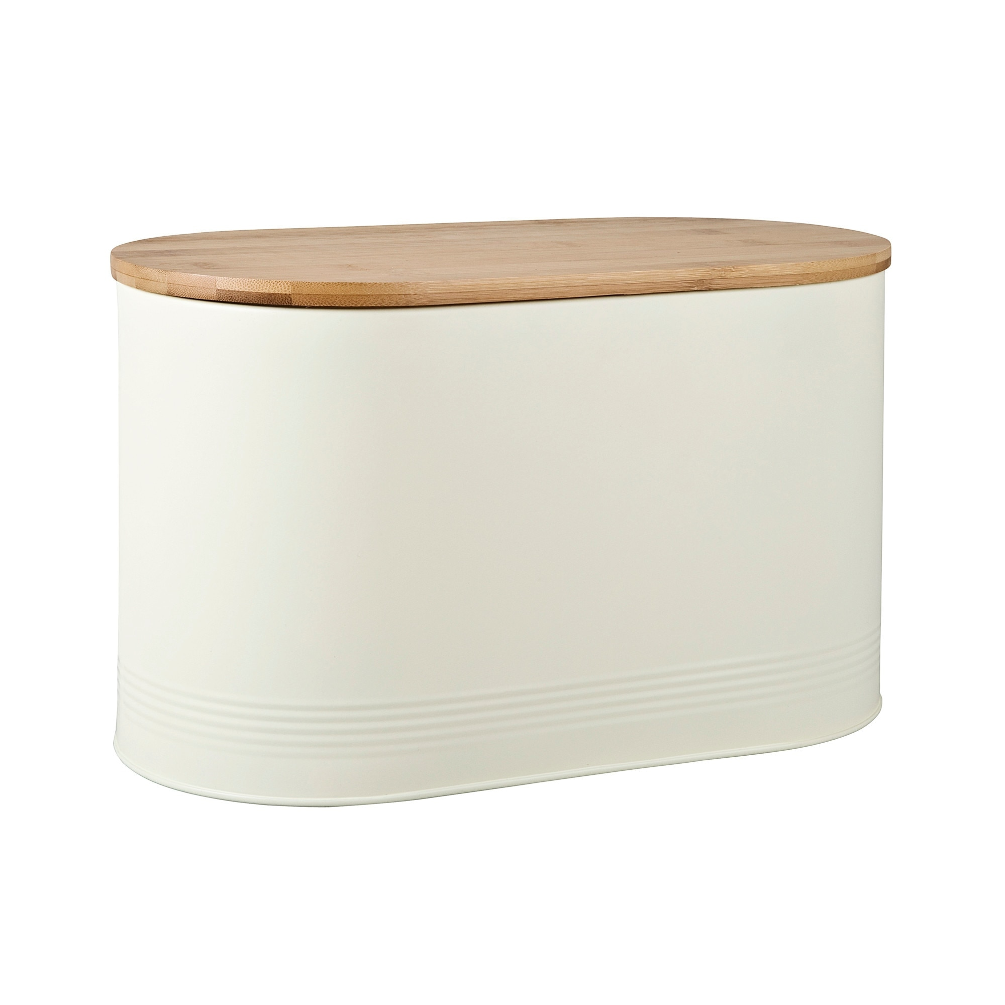 Compare prices for Bread Bin With Bamboo Lid Cream