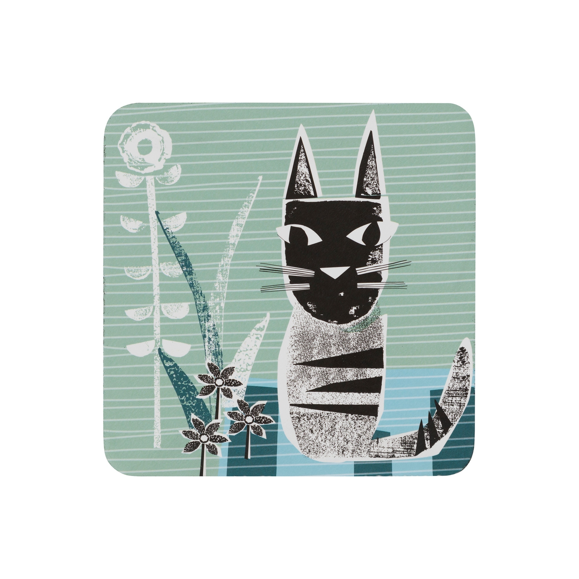 Compare prices for Denby Cat Coasters Set of 6