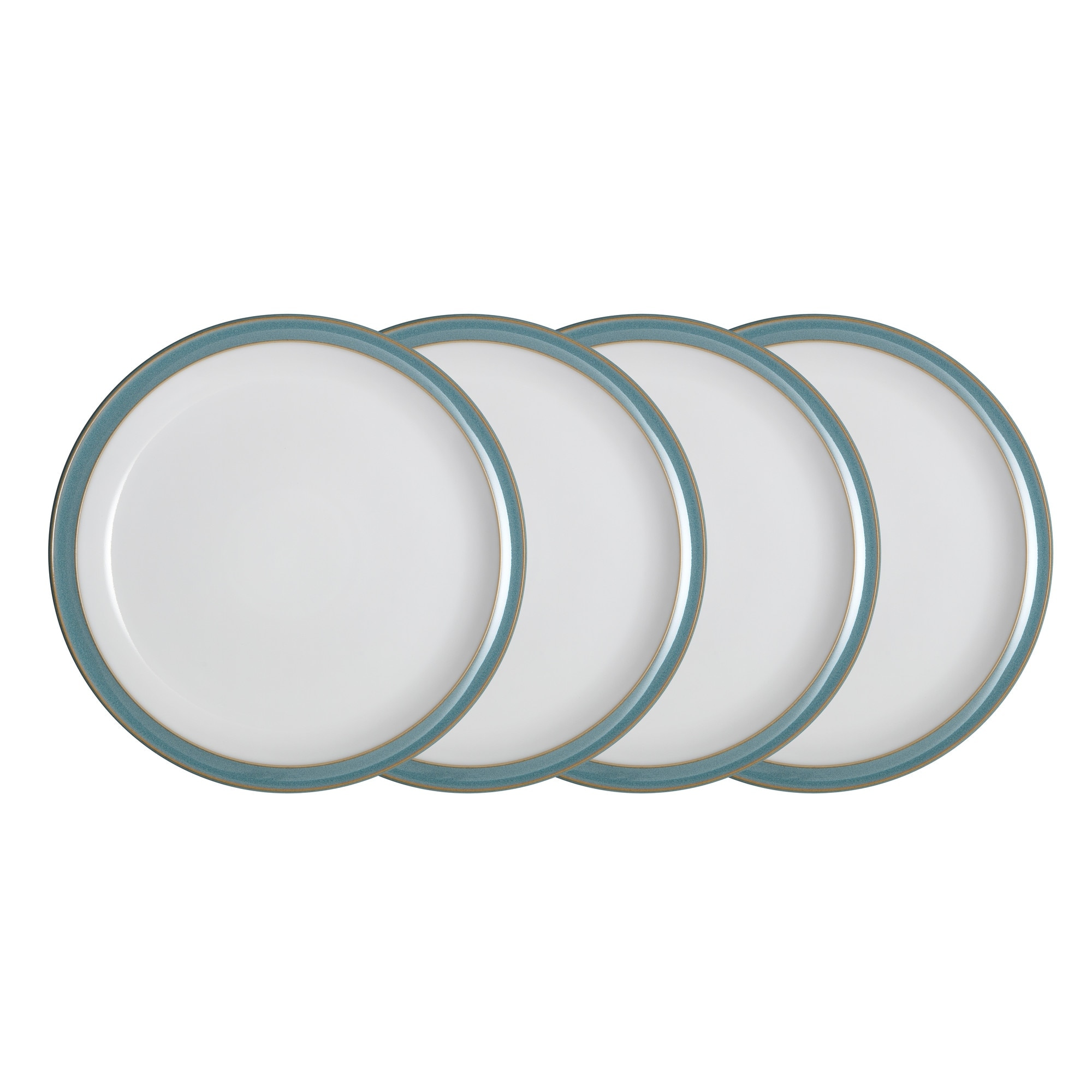 Compare prices for Azure 4 Piece Dinner Plate Set
