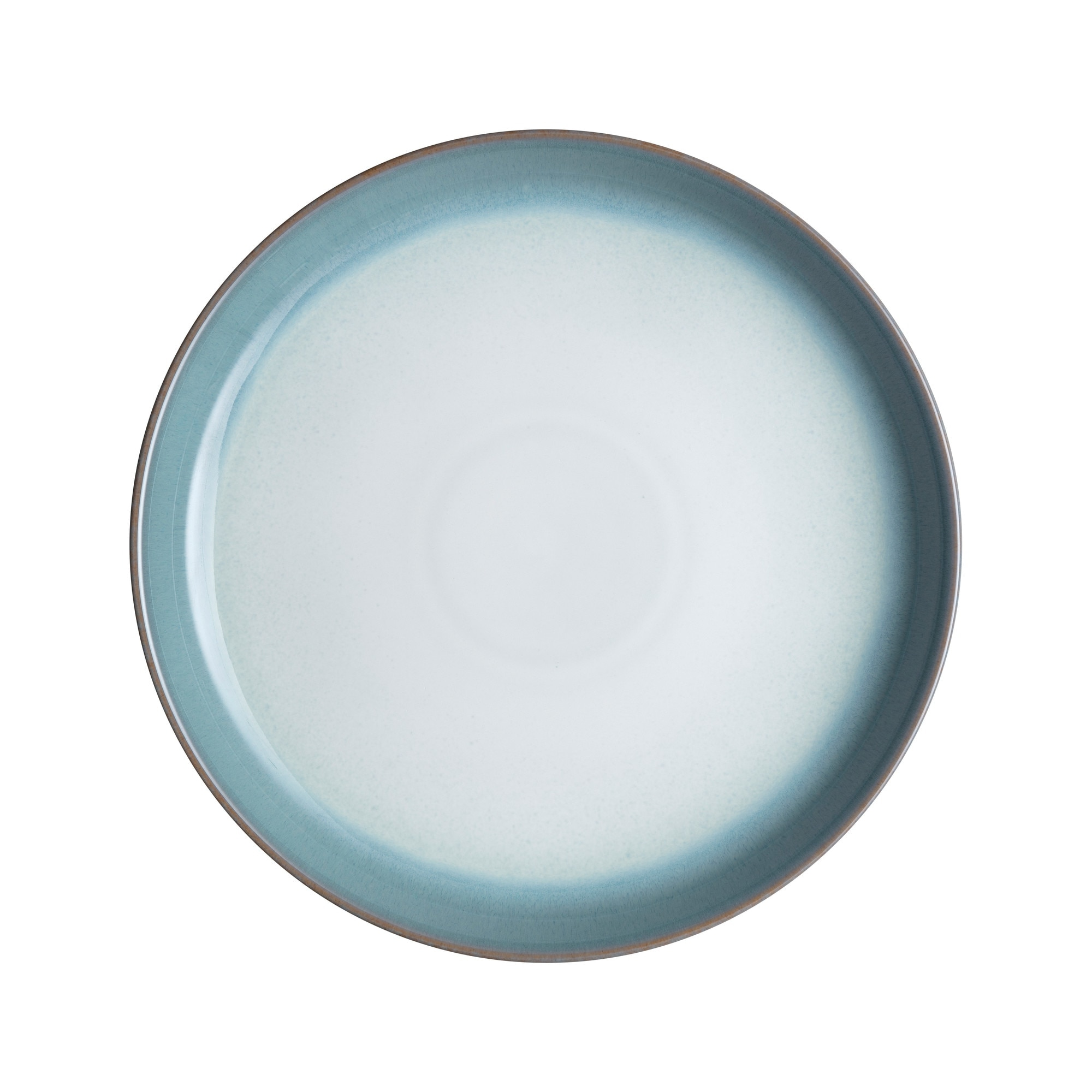 Azure Haze Coupe Dinner Plate