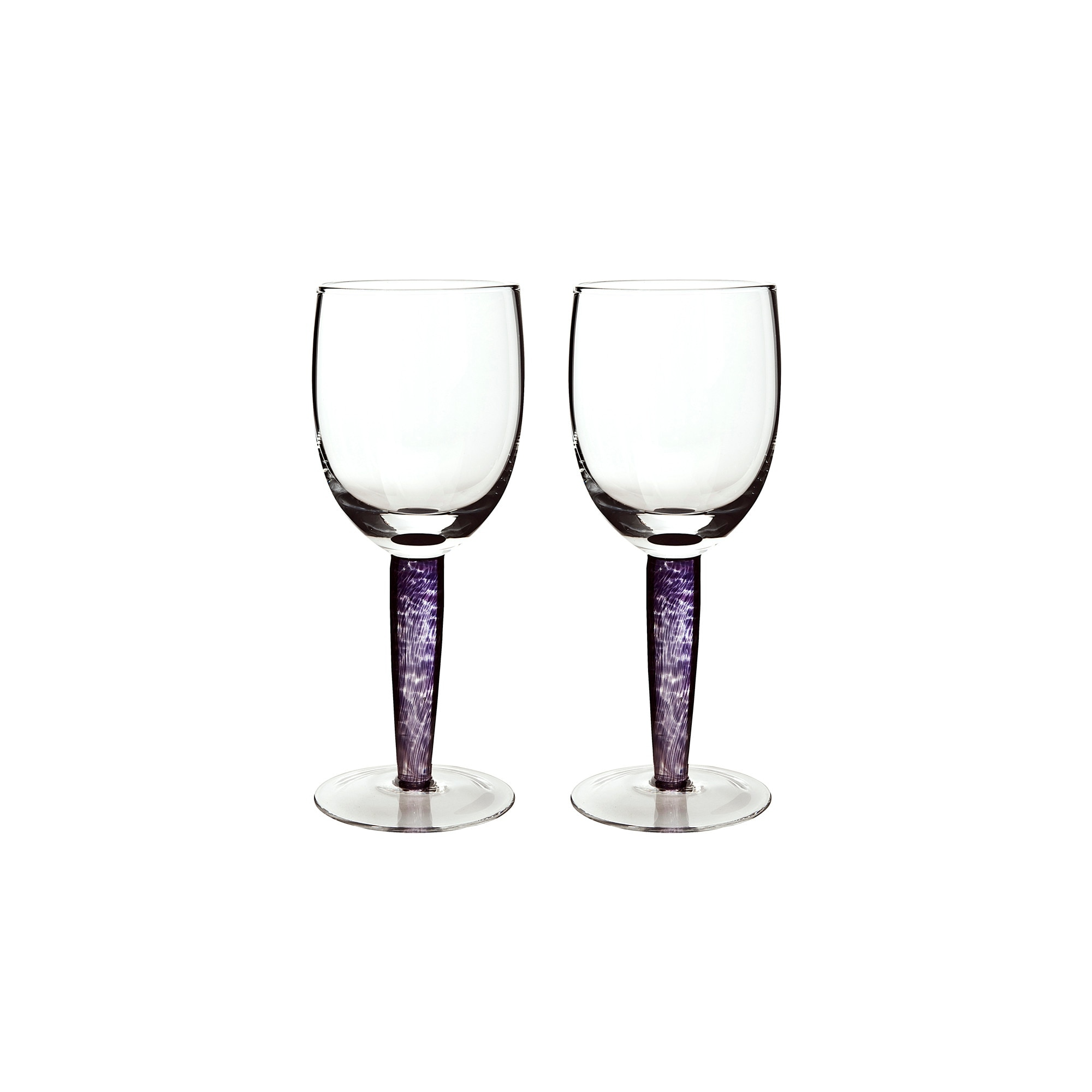 Compare prices for Denby Amethyst Red Wine Glass Pack Of 2