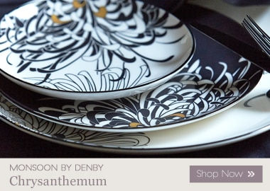 Monsoon Chrysanthemum & Denby Monsoon - Styled by Life