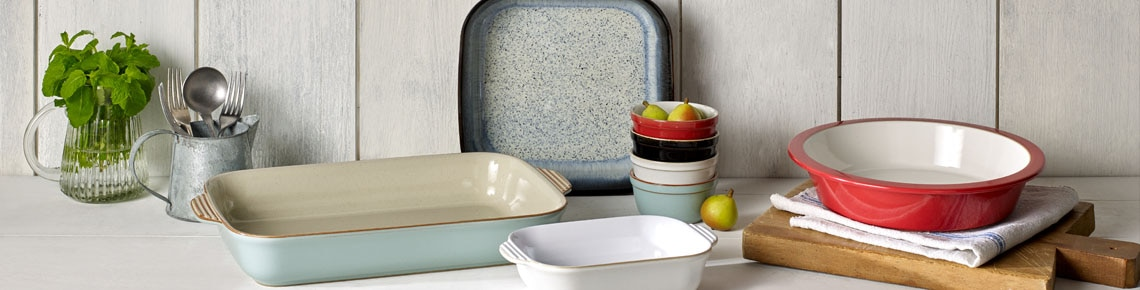 & Denby Stonewear Oven to Tableware - Made in England