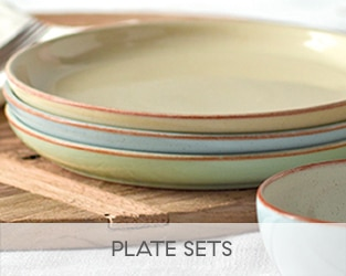 Made in England and built to last shop our beautiful Denby plate collection from the categories below. & Denby Plates - Handmade in England