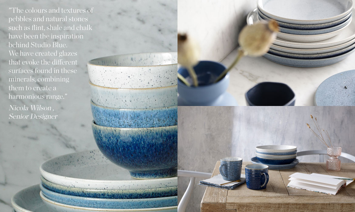 Click to buy Studio Blue · View the Studio Blue range Studio Blue & Introducing Studio Blue