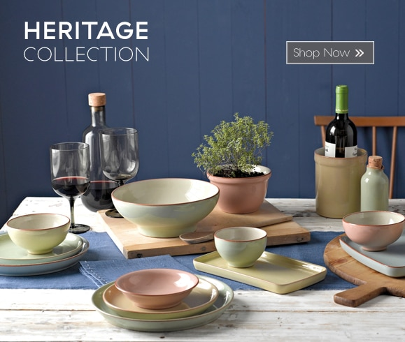 & Denby Tableware - Handmade in England
